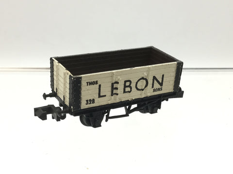 Graham Farish 2118 N Gauge 7 Plank Wagon Lebon
