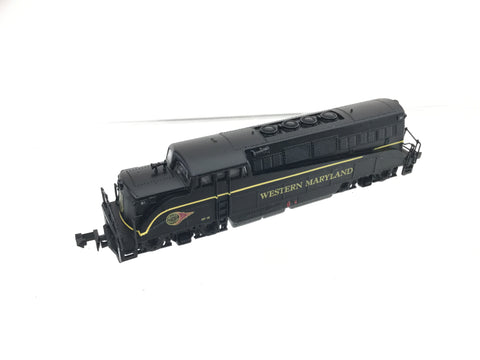 Life-Like 7906 N Gauge EMD BL2 Western Maryland DF-15