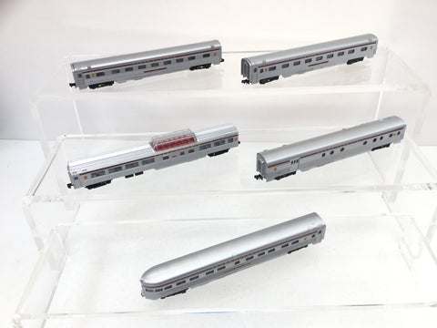 Con-Cor 003-540003 N Gauge Streamline Coaches Set Pennsylvania