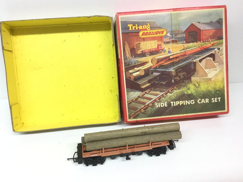 Triang R345 OO Gauge Side Tipping Wagon TR2549, Load & Box