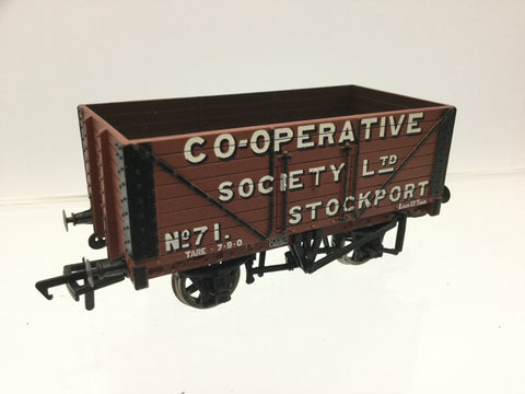 Bachmann 37-150Z OO Gauge 8 Plank Wagon Co-operative Society