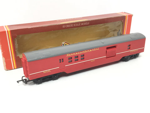 Triang R400 OO Gauge Transcontinental Mail Coach 3606 Red Livery