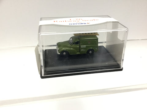 Oxford Diecast 76MM007 OO Gauge Morris Minor Van P.O Telephones