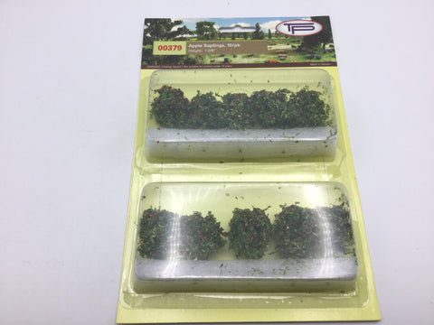 Tasma Products 00379 OO/HO Gauge Apple Saplings Trees (Pack 10)