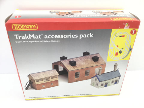 Hornby R8084 OO Gauge Trakmat Accessories Pack 1