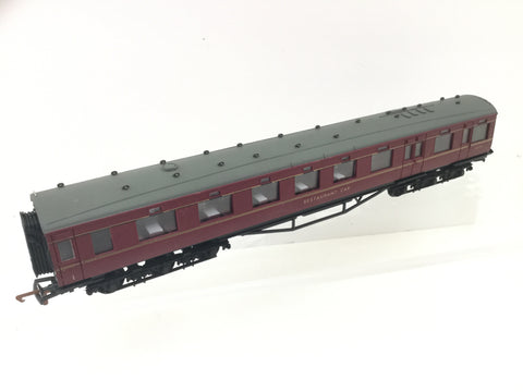 Dapol E2 OO Gauge BR 68' 12 Wheeled Dining Car M239M Maroon