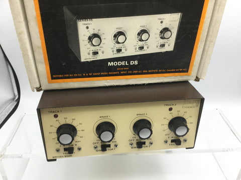 Gaugemaster Model DS Twin Track Controller with Brake Simulator