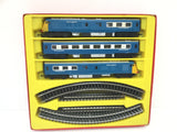 Triang OO Gauge 3 Car Midland Blue Pullman Train Set