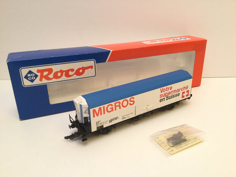 Roco 46558 HO Gauge FS Refrigerated Wagon Migros