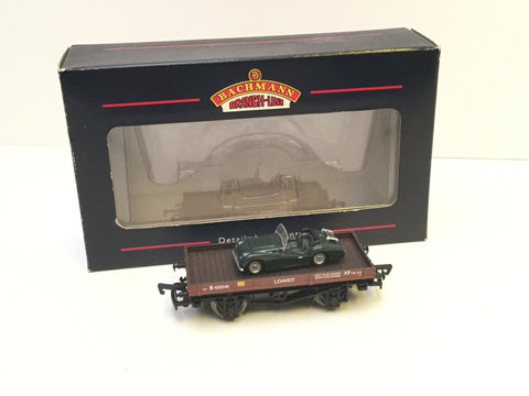 Bachmann 33-412 OO Gauge 1 Plank Wagon with Triumph Load