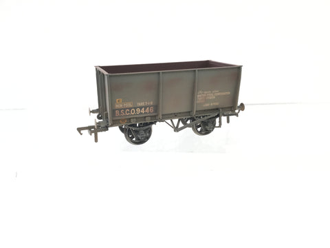 Bachmann 37-401A OO Gauge 16t Slope Side Steel Tippler Weathered Grey BSC