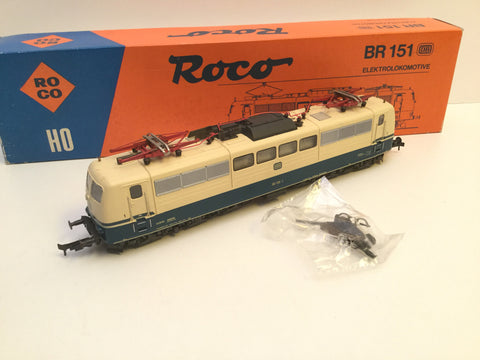 Roco 4132A/43409 HO Gauge DB Electric Loco BR 151 135-1