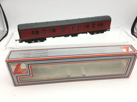 Lima 305347 OO Gauge Post Office Red Full Brake Coach NDX 80861