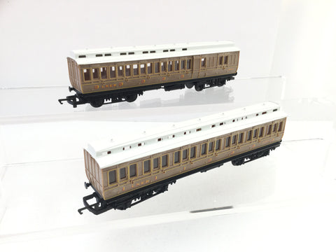 Lawrence/Goddard OO Gauge LMS Maroon 6 Wheel Brake Coach