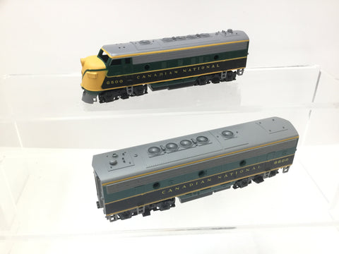 Athearn 3025/3026 HO Gauge F-7 A&B Canadian National (DUMMY)