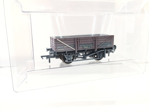 Bachmann 33-082 OO Gauge 5 Plank China Clay Wagon B743357