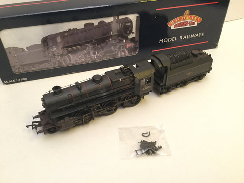 Bachmann 32-580 OO Gauge BR Ivatt 4MT 43019 Factory Weathered