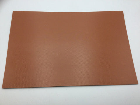 Slaters 0401 4mm/OO Gauge Brick Red Embossed Plastikard Sheet