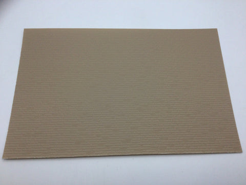 Slaters 0420 7mm/O Gauge Stone Course (Lge) Embossed Plastikard Sheet