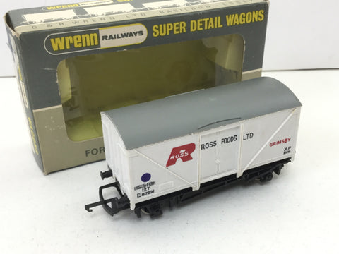 Wrenn W5001 OO Gauge BR Fish Van Ross Foods Ltd