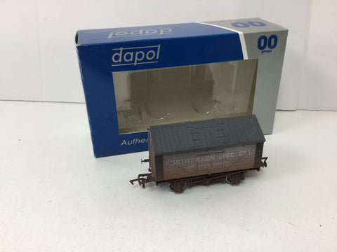Dapol 4F-017-004 OO Gauge Lime Wagon Porthywaen (Weathered)