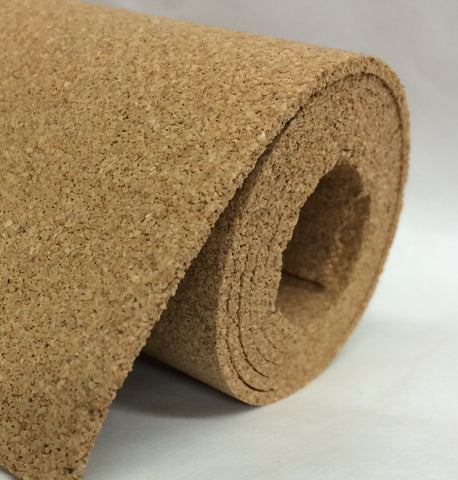 "Javis JCS18S Cork Roll 1/8"" 2.5mm thickness 12 inches by 36 inches"