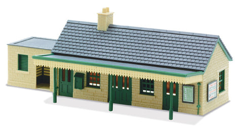 Peco LK-13 OO Gauge Country Station Building Kit (Stone)