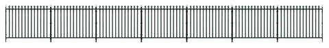 Peco LK-741 O Gauge GWR Spear Fencing/Gates - Straight