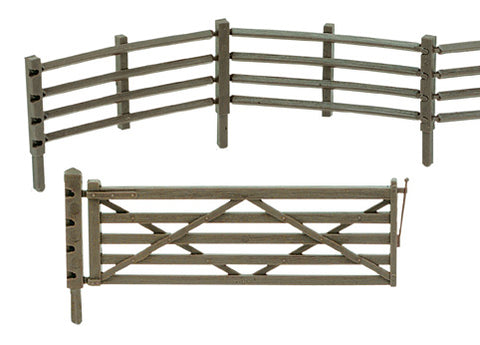 Peco LK-743 O Gauge Flexible Field Fencing & Gates