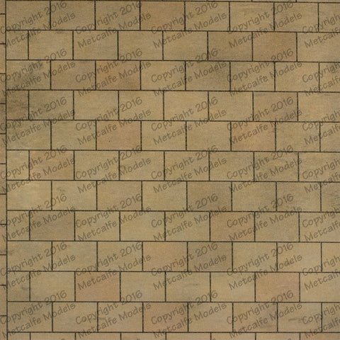 Metcalfe M0055 OO/HO Gauge Paving Sheets