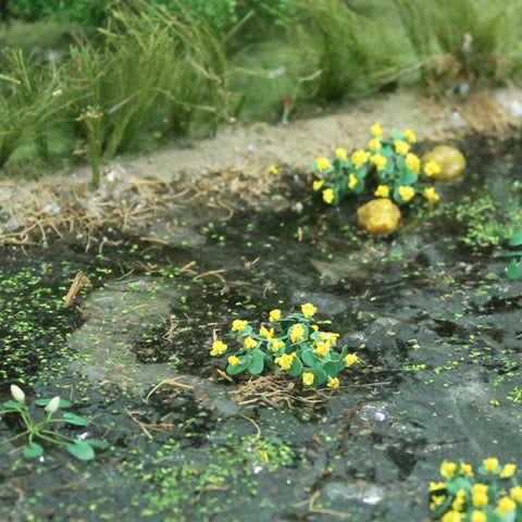 Tasma Products 00376 OO/HO Gauge Marsh Marigold Plants (Pack 14)
