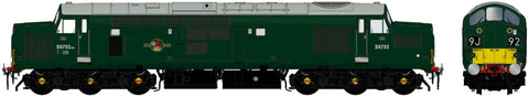 Accurascale 2302D6702 OO Gauge BR Green Class 37 No D6702 (SYP)