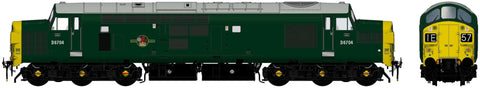 Accurascale 2303D6704DCC OO Gauge BR Green Class 37 No D6704 DCC SOUND