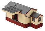 Peco NB-6 N Gauge Wooden Goods Shed Kit