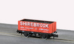 Peco NR-P413 N Gauge 7 Plank Wagon, Shirebrook Colliery