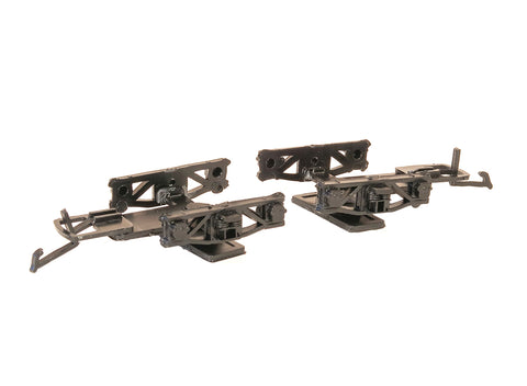 Parkside PA38 OO Gauge Diamond Frame Wagon Bogies (Pair)