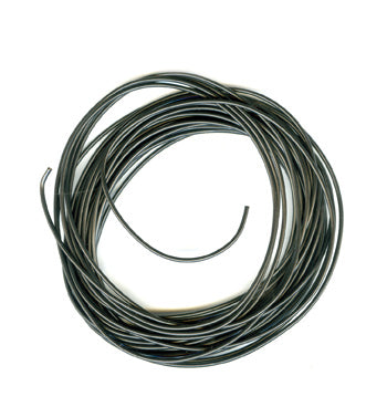 Peco PL-38BK Electrical Wire, Black, 3 amp, 16 strand