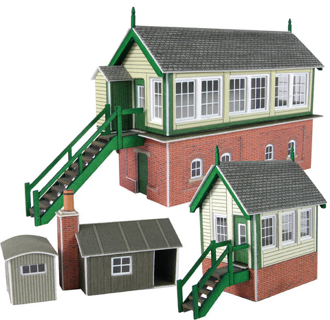 Metcalfe PN133 N Gauge Signal Box Set Card Kit