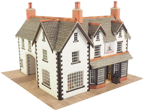 Metcalfe PO228 OO/HO Gauge Coaching Inn Card Kit