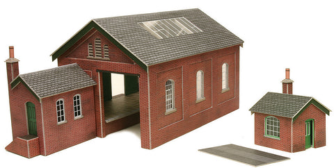 Metcalfe PO232 OO/HO Gauge Goods Shed Card Kit