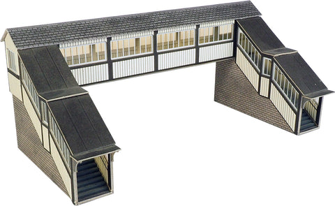 Metcalfe PO236 OO/HO Gauge Footbridge Card Kit