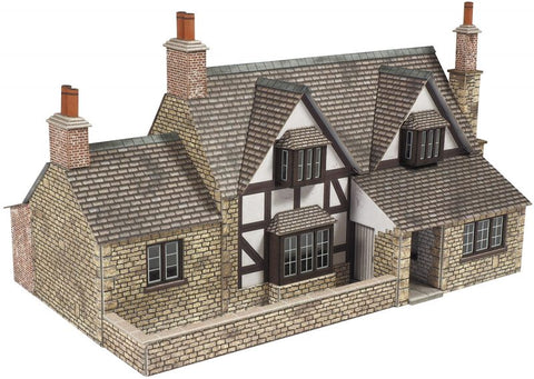 Metcalfe PO267 OO/HO Gauge Town End Cottage Card Kit