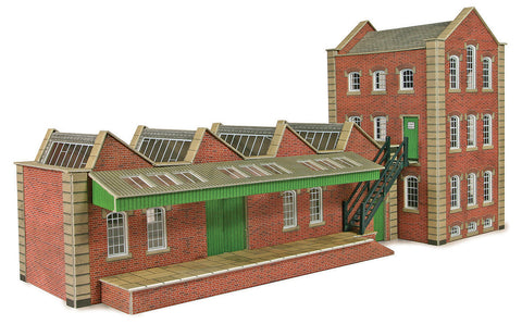 Metcalfe PO283 OO/HO Gauge Small Factory Card Kit