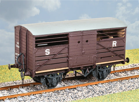 Parkside PS107 O Gauge SR Standard Cattle Wagon Kit