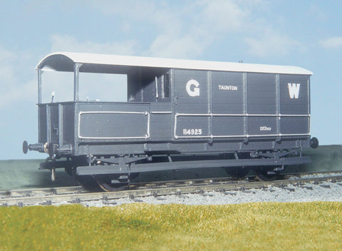 Parkside PS44 O Gauge GWR 20t Goods Brake Van Kit