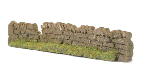 Javis PW1LBDAM OO Gauge Roadside Damaged Dry Stone Walling Light Brown