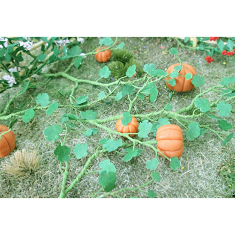Tasma Products 00681 OO/HO Gauge Pumpkin Plants (Pack 6)