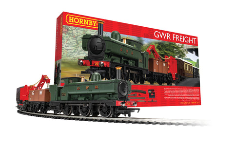 Hornby R1254M OO Gauge GWR Freight Train Set