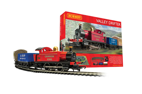 Hornby R1270M OO Gauge Valley Drifter Train Set
