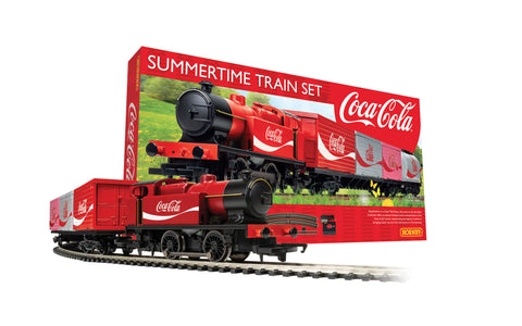 Hornby R1276M OO Gauge Summertime Coca-Cola Train Set